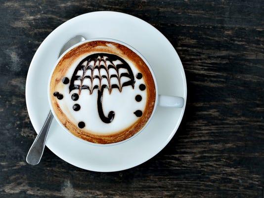 Umbrella coffee