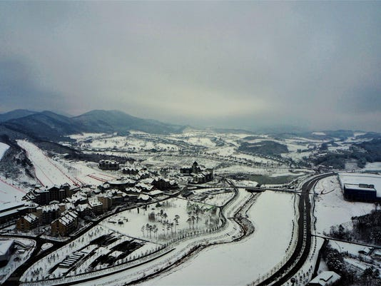 Pyeong Chang South Korea