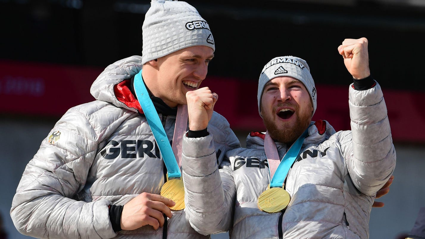 German sweep: Friedrich wins a 4-man Olympic gold medal