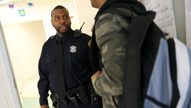 Cincinnati Public Schools has created a culture of calling school resource officersat any sign of misbehavior. Rather than training teachers and administrators on how to deescalate situations, CPS emphasizes the use of police as a primary tool of discipline. Cincinnati SROs respond to a staggering 5,000 incidents per year, most of them basic outbursts that teachers should routinely dispense of without incident, says guest columnist Elena Thompson of the ACLU of Ohio.