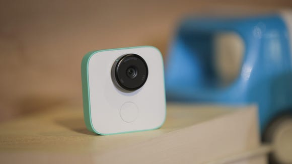 The new Google Clips wireless camera is seen  at a