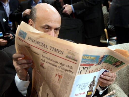 Stocks stumble as Fed sticks with stimulus