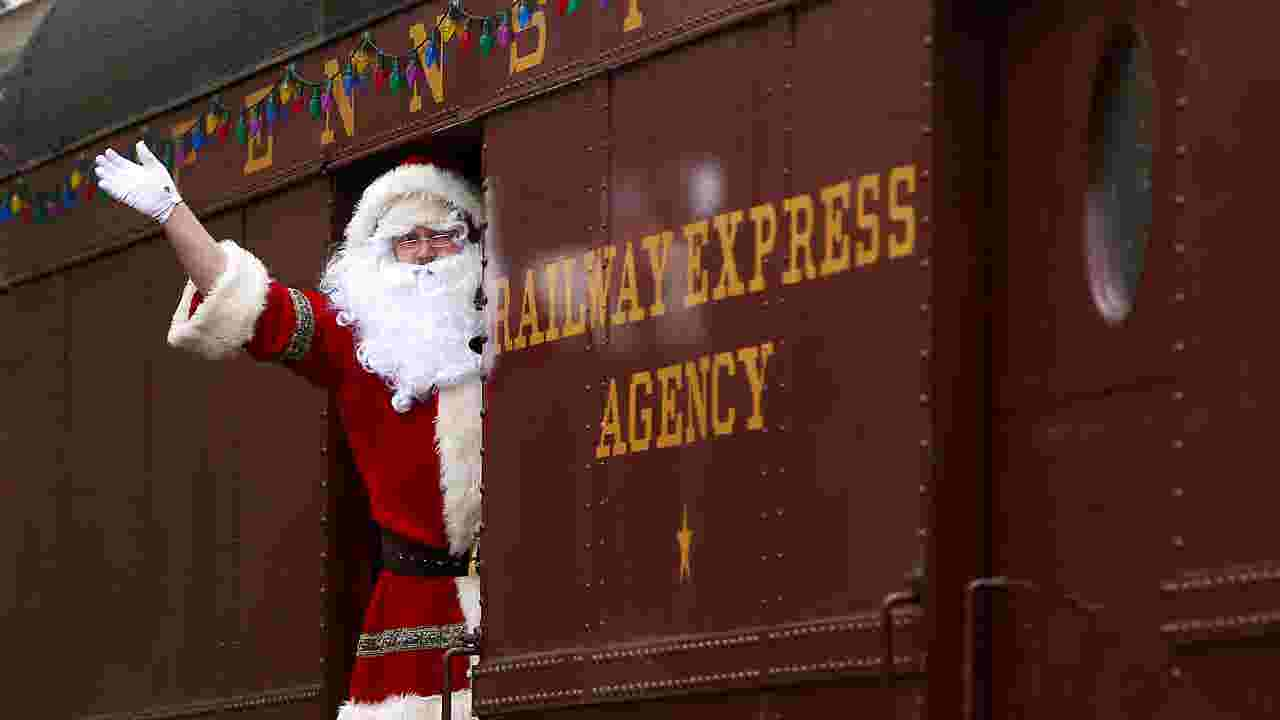 Toys For Tots Train Collects Smorgasbord Of Gifts In Morris County