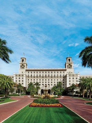 At The Breakers in Palm Beach, rooms are fetching more than $1,000 a night.