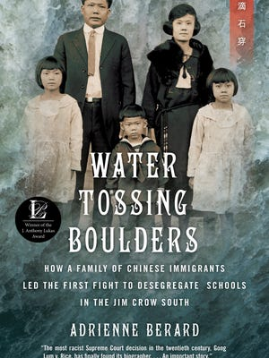 Adrienne Berard, author of 'Water Tossing Boulders: How a Family of Chinese Immigrants Led the First Fight to Desegregate Schools in the Jim Crow South,' will appear at Bookstock on April 29.