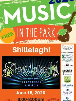 The Smithville chamber's Music in the Park series begins June 18.