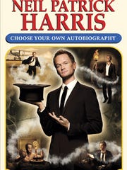 """This book cover image released by Crown Archetype shows """"Neil Patrick Harris: Choose Your Own Autobiography,"""" by Neil Patrick Harris. The book is set for release on Oct. 14, 2014."""