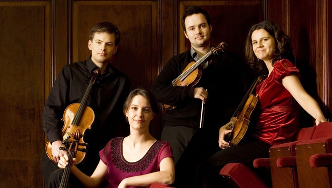 The internationally acclaimed Elias String Quartet is the second concert of Lawrence University's 2016-17 Artist Series, set for Friday in the Lawrence Memorial Chapel.