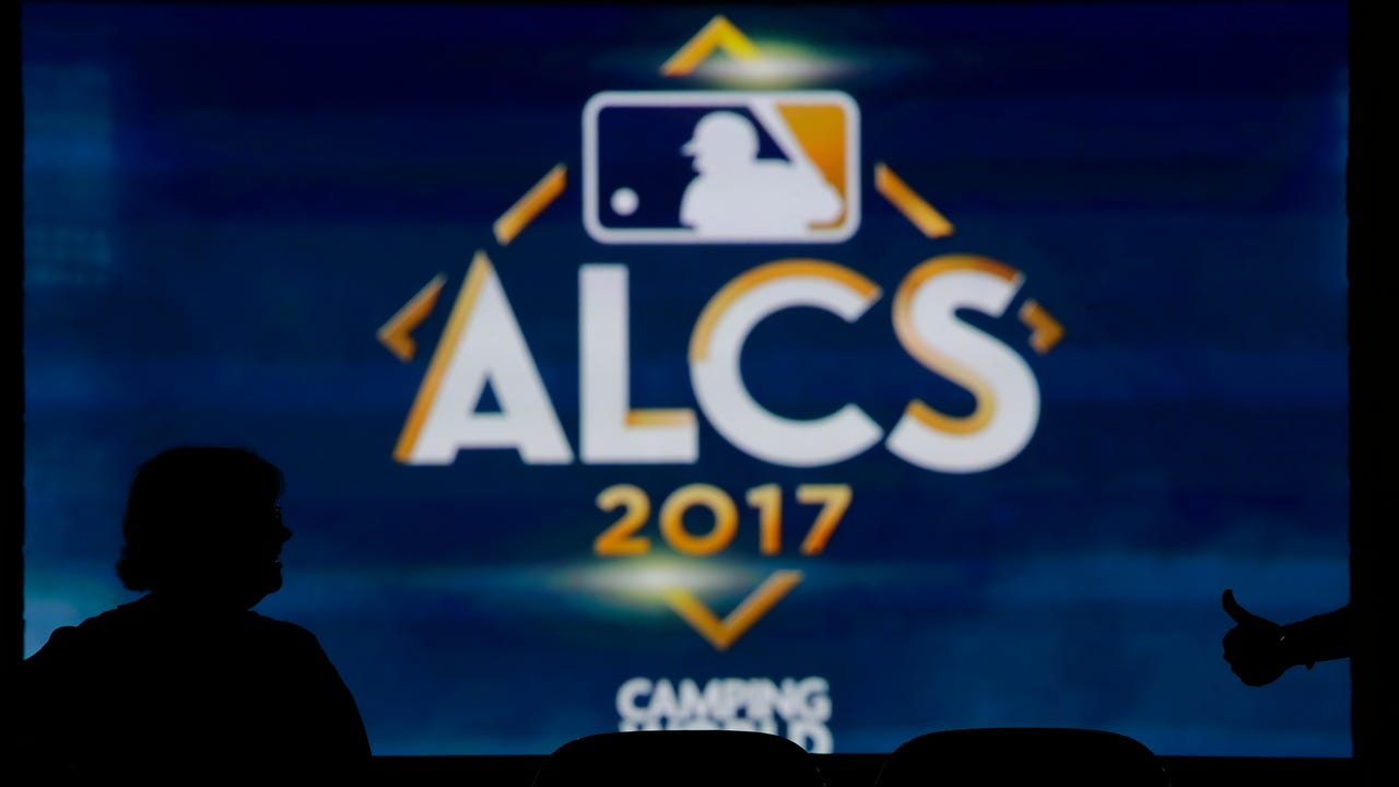 Record baseball columnist Bob Klapisch and Record Yankees beat writer Pete Caldera after the Yankees fall to the Astros, 4-0, in Game 7 of the ALDS on Saturday, Oct. 21, 2017 in Houston.