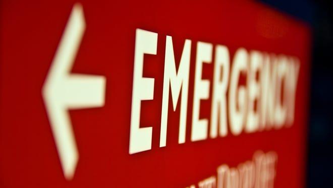 Emergency  sign.