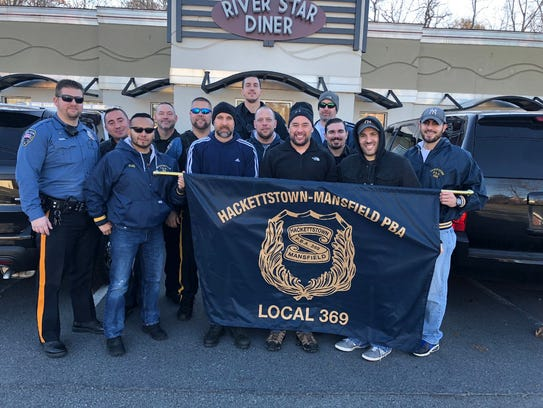 On Thanksgiving Day, members from the Hackettstown-Mansfield