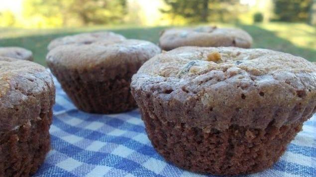 Brookies are a half brownie, half cookie concoction.