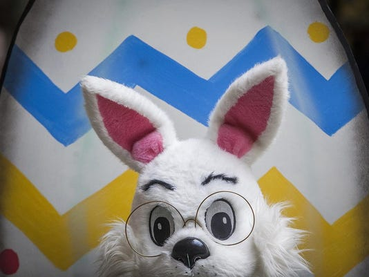 Easter Bunny mug partial