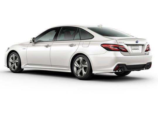 The new Crown is Toyota's first generation of fully