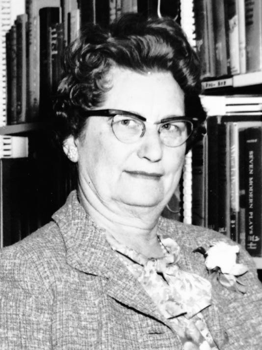 Lucille Merriwether Gray, another charter member of the Grant County AAUW Branch, was instrumental in establishing the Silver City Public Library. She also served as the city's first librarian. Courtesy Photo