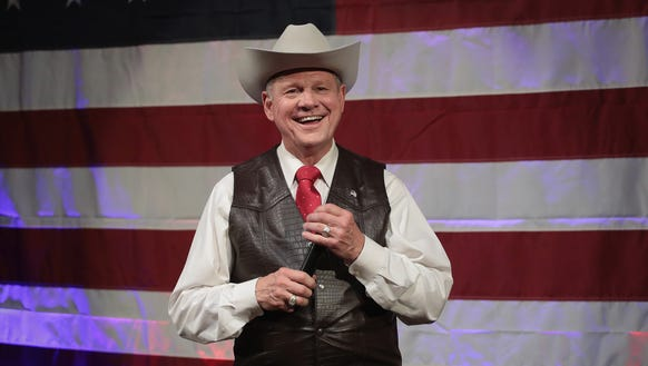 Republican candidate for the U.S. Senate in Alabama,