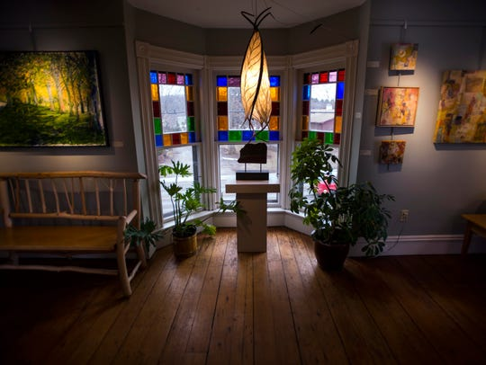 The Furchgott-Sourdiffe Gallery on Falls Road in Shelburne