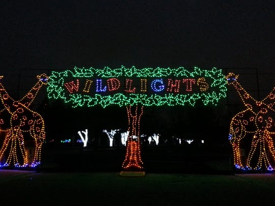 Experience 5 million twinkling LED lights at the Detroit Zoo Wild Lights display this holiday season.