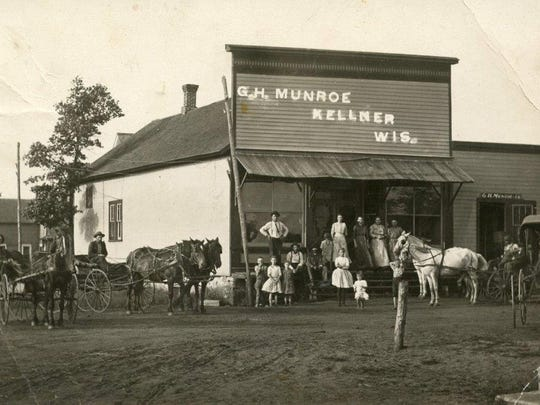 This photo of the store in Kellner, at Whitrock and 80th, was taken before the turn of the last century.