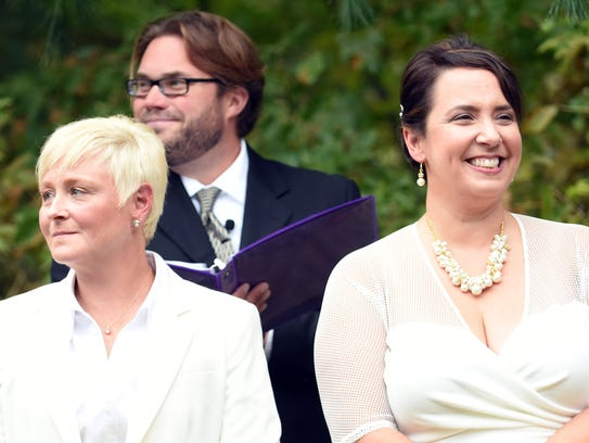 Betsy and Robin Miner-Swartz were legally married in