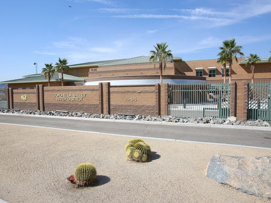 The Coachella Valley Water District's administration building in Palm Desert.