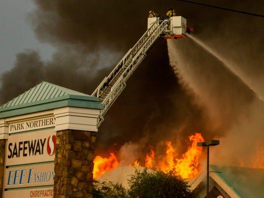 Safeway Fire
