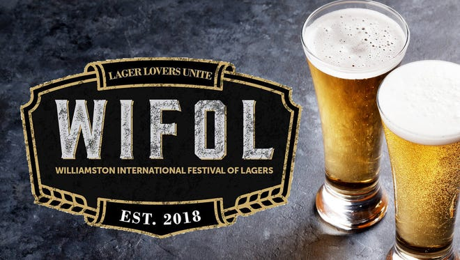 Williamston International Festival of Lagers is the first. The event is June, 2, 2018.