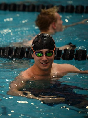Port Clinton's Jack Kessler tied for 13th in the 50 freestyle at state in Division II.