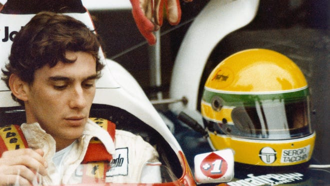 Ayrton Senna won Formula One titles in 1988, '90 and '91, and his 41 race wins are third most all time.