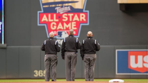 The All-Star Game is Tuesday at Minnesota's Target Field