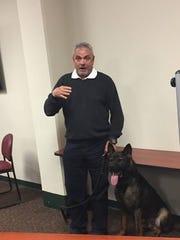 Retired Evansville Police Captain John Haller will