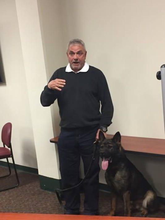 new VCSO police dog