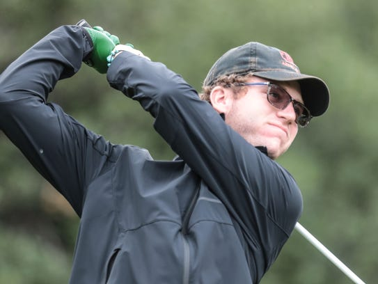 Palm Desert's Chris Wardrup tees off on 12 during the