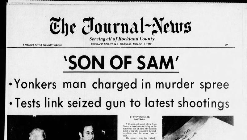 Son of Sam page