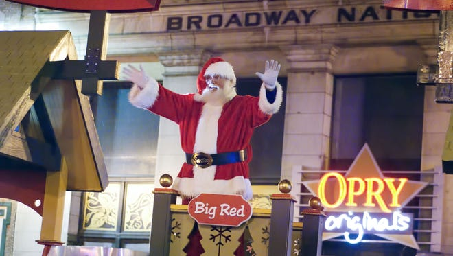 The Nashville Christmas Parade gets a new time and route in 2015.