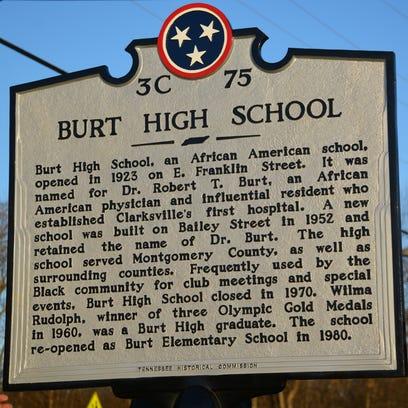 Burt High Historical Marker