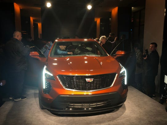 General Motors reveals the Cadilac XT4 crossover in