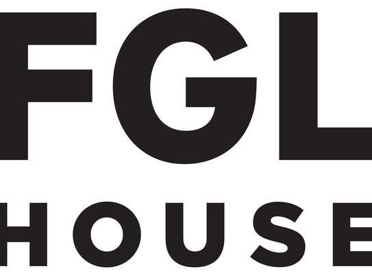 The logo for FGL House.