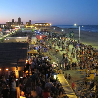 A view from Watermark in Asbury Park.