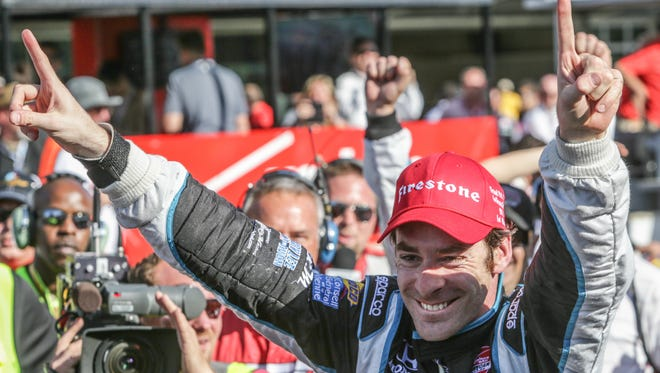 Is this man, Simon Pagenaud, soon to join Andretti Autosport?