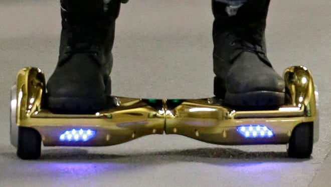 A hoverboard is shown in this file photo.