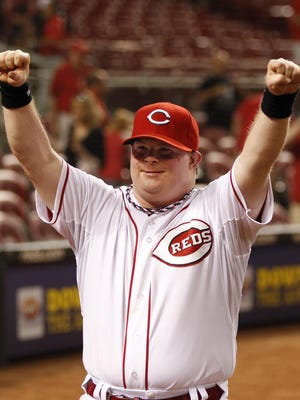 Teddy Kremer has been a Reds batboy on numerous occasions and worked in fan accommodations for the club.