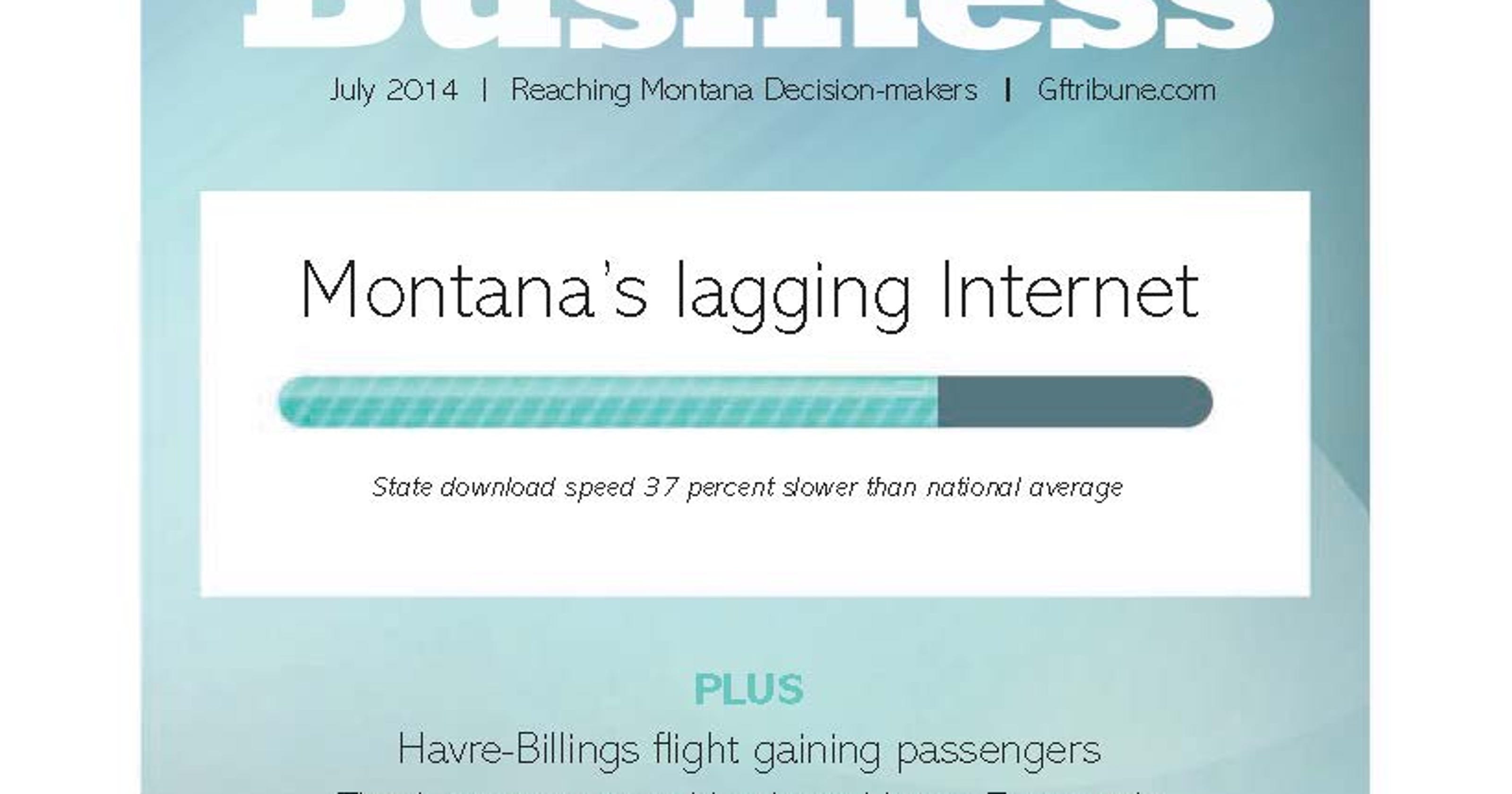 Why is Montana's Internet so slow?