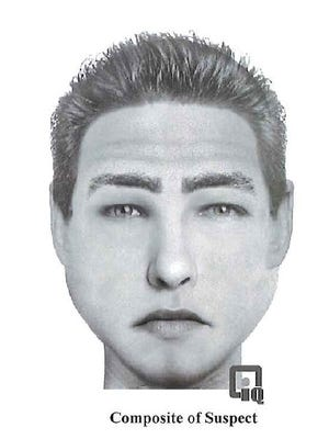 A sketch of a male suspect who tried to abduct a girl in Bonita Springs on Friday, Oct. 7, 2016.