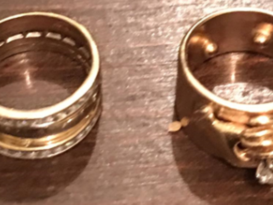 Two wedding rings stolen from a Montebello woman on