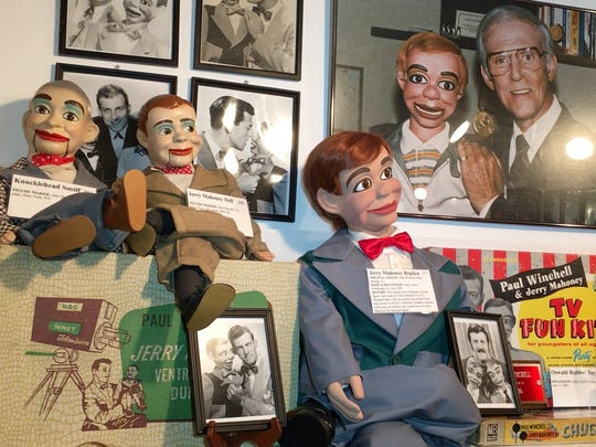 The creations of Paul Winchell on display at the Vent