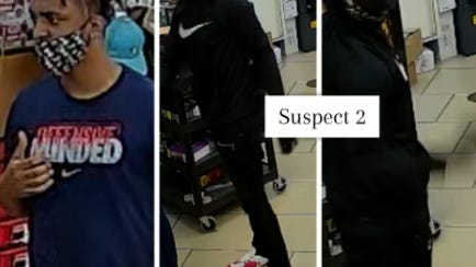 Austin police on Wednesday said authorities are looking for four men connected to three recent robberies of 7-Eleven stores around the city.
