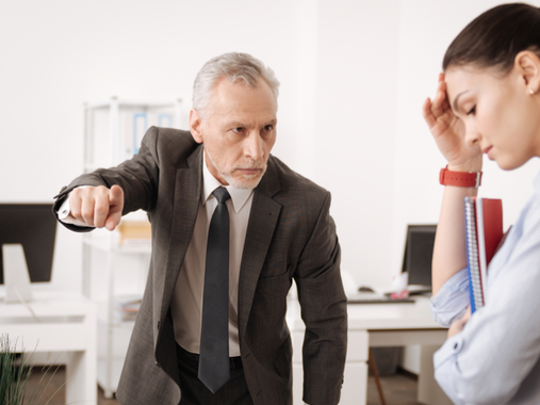 What can employees do if their supervisor is unprofessional or abusive? Ask HR