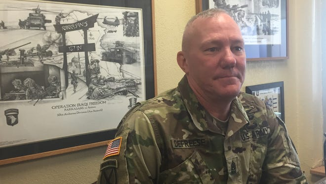 Command Sgt. Maj. Dennis Defreese, the commandant of the U.S. Army Sergeants Major Academy, talks about the academy's Fellowship Program, now in its second year.