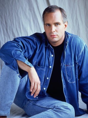 Country music superstar Garth Brooks, photographed in 1994 to promote his third NBC special, 1995's 'Garth Brooks: The Hits.'